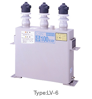 Medium Voltage Power Capacitors Type:LV-6